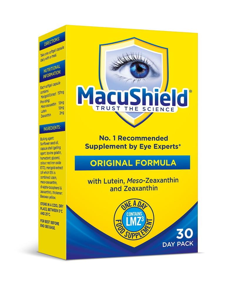 MacuShield - preparat w kapsułkach chroni plamkę